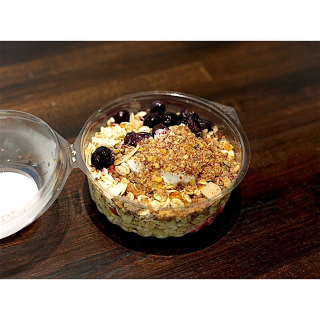 We have fresh Bircher muesli by BRKFST in this morning, available in both Original and Dairy Free. We are also grinding our super smooth Sunny Boy Original all day. Open until 2.