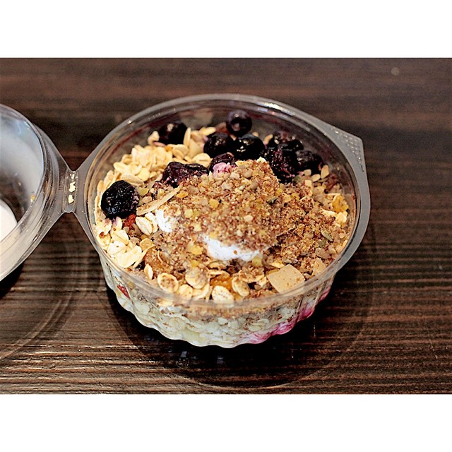 We have delicious fresh muesli by BRKFST in this morning. Available in Original and Dairy Free. Open til 2.