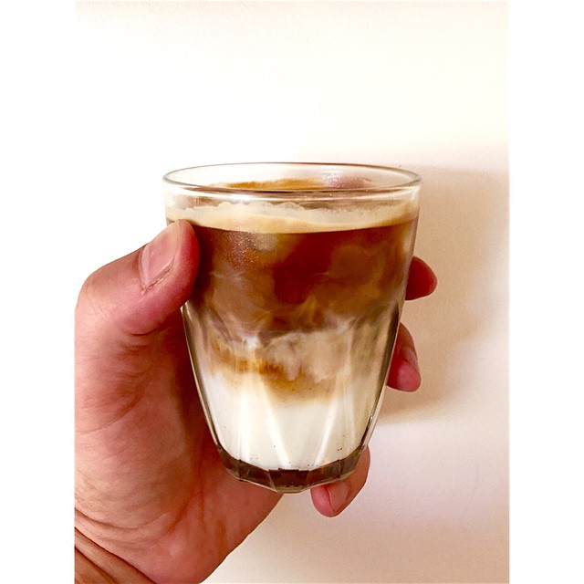 Looks like we are ending the year with a scorcher on the coast. We have Sunny Boy Original in the grinder today, but if hot coffee isn't your style try it over iced creamy Maleny Dairies milk.
