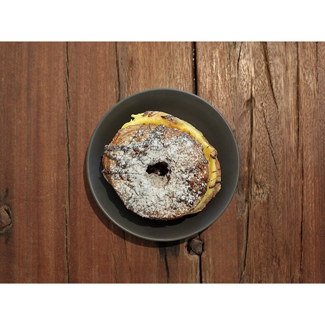 It's that time of week again. Get your cronut preorders in by this afternoon for tomorrow morning pickup. We have both custard caramel flavour and jaffa choc Orange flavour available. Simply inbox is your name, quantity and flavours.