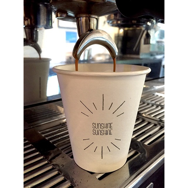 This morning we have our deliciously smooth Sunny Boy Original in the grinder. 100% PNG Arabica consisting of Mundo Novo, Bourbon and Aroosha varieties. Open 6-2.
