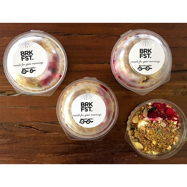 Forgot breakfast? We have you covered with muesli cups by BRKFST available in Original and Dairy Free!