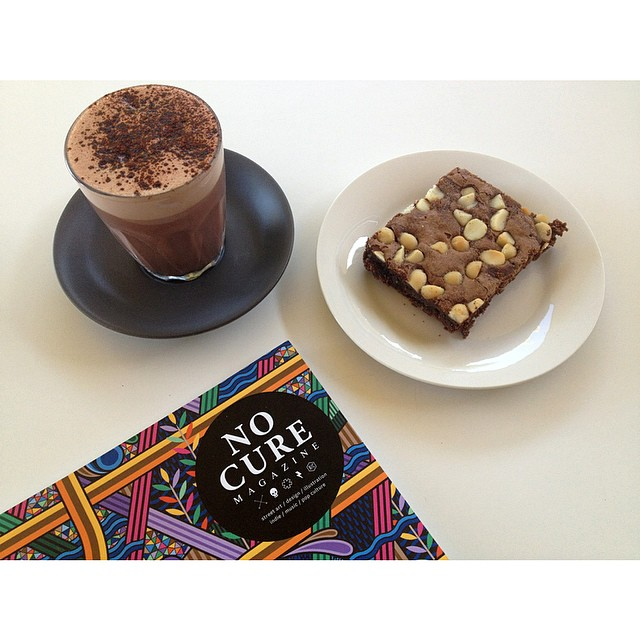 We have the full spectrum of Mork Chocolate back in stock!    Enjoy it with a macadamia brownie and one of the latest issues of No Cure Magazine.