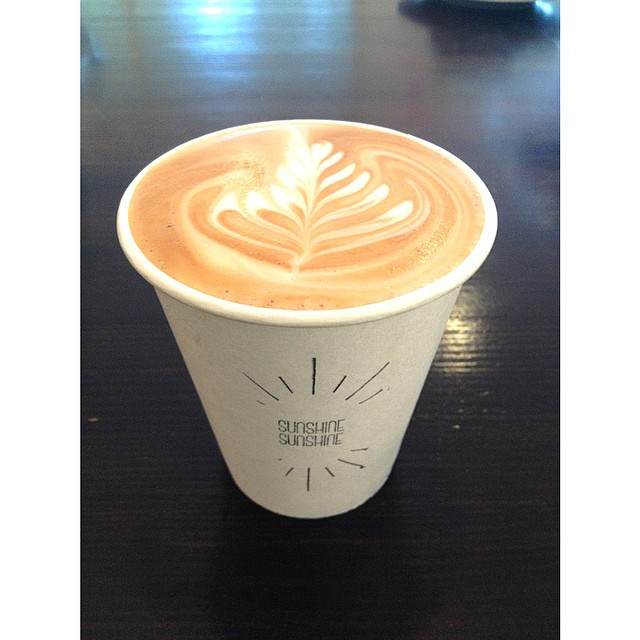 Good morning! We are serving up everyone's favourite Sunny Boy Original til 9am this morning, then we will be grinding our single origin Ethiopian til lunch! Stop in for a bite to eat and a warm velvety coffee on a chilly morning!
