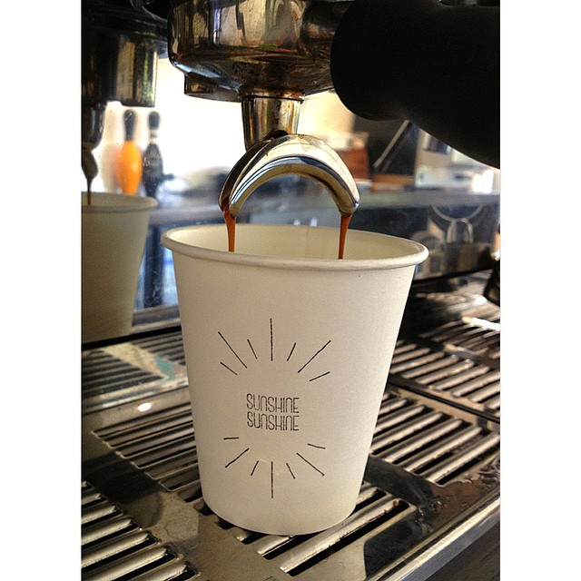 Our signature blend consisting of 100% PNG Arabica beans, Sunny Boy Original, is pouring all day long. Drop in anytime before 2.