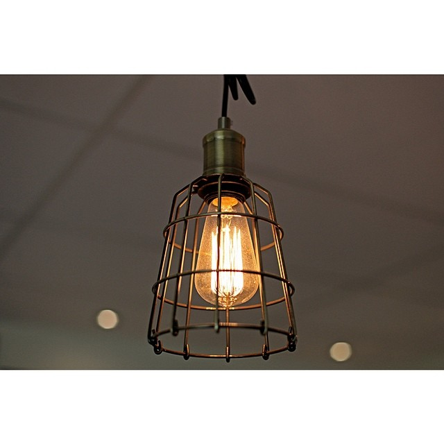 We've had a lot of positive comments about our unique fitout and design aesthetic. Including these beautiful cage pendants hanging over our front counter. Drop by 7 days a week for a coffee, Mork or tea and enjoy the atmosphere for yourself.