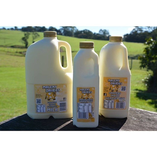 We are proud to be supporters of local industry. That's why we will be using Maleny Dairies milk.