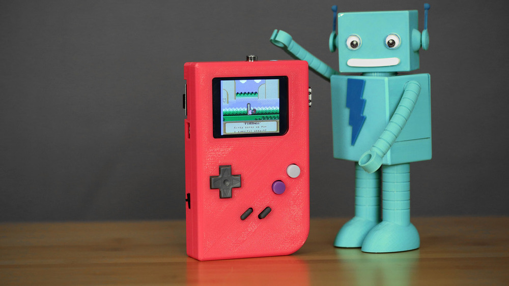 Team Adafruit Raspberry Pi Gameboy