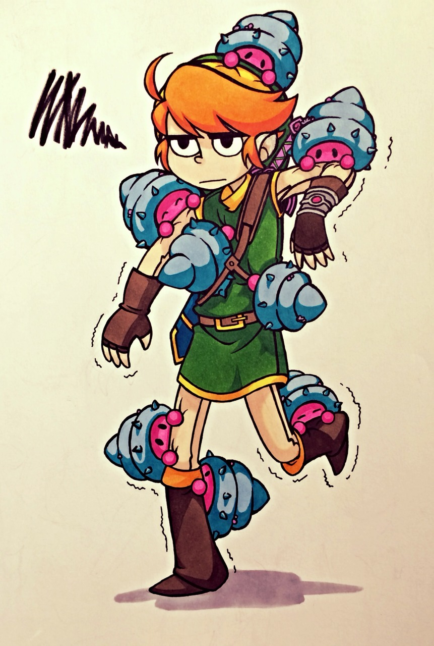 Popular Zelda artwork The Other Mother MaiaMai from Hylian Hick. (via tumblr)
