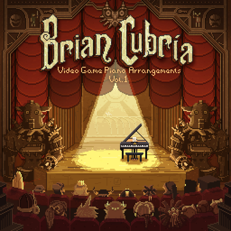 Brian Cubria - Video Game Piano Arrangements Vol. 1