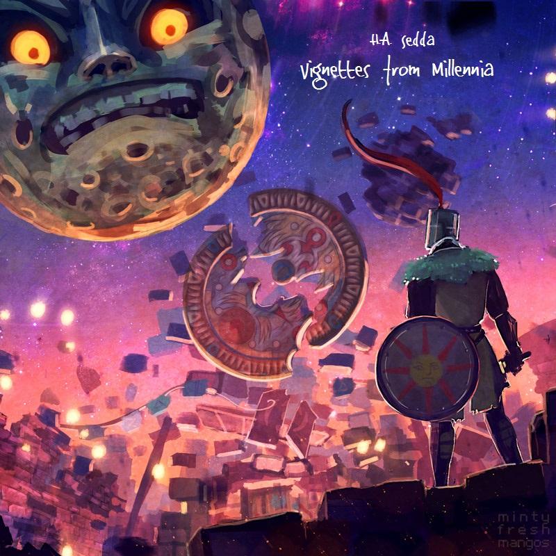 For Sedda - Zelda and Dark Souls EP Coverbymintyfreshmangos