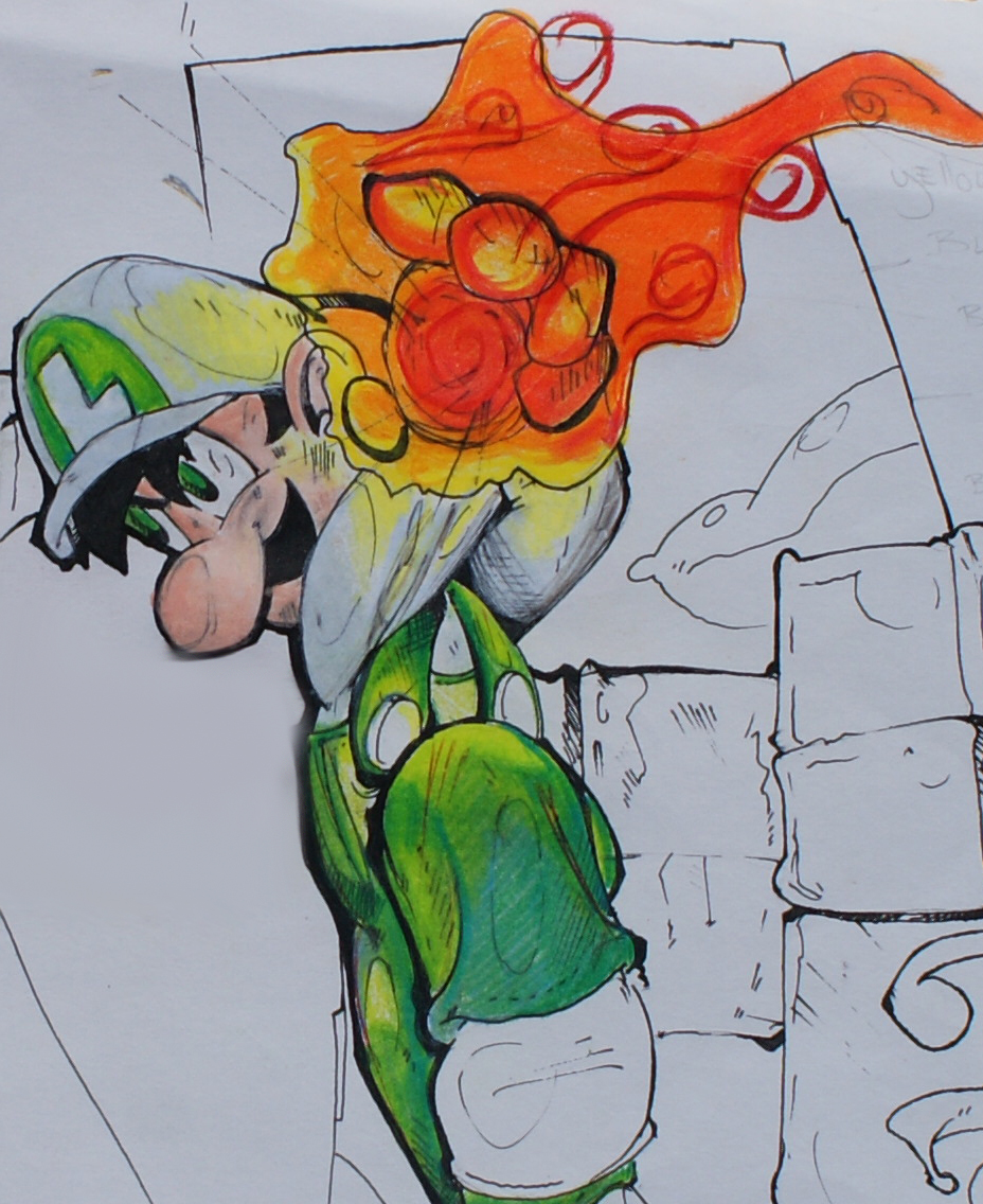 luigi by EddieBattle