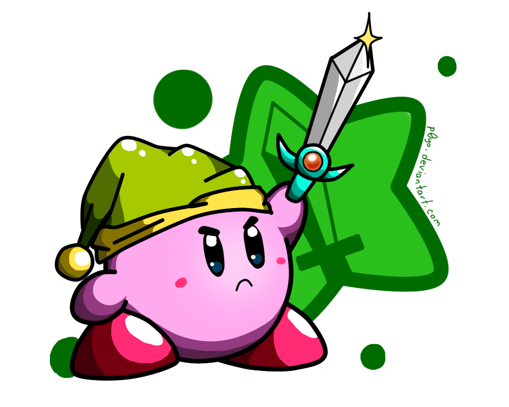 Sword Kirby!   by    p0Yo