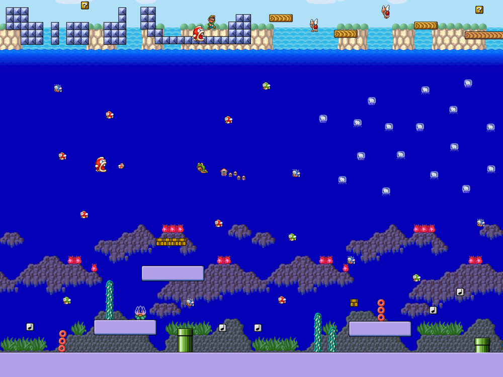 Super Mario Bros 3 - Sea Side   by    Metadraxis
