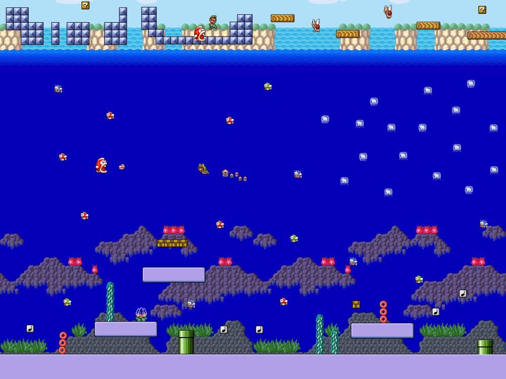 Super Mario Bros 3 - Sea SidebyMetadraxis