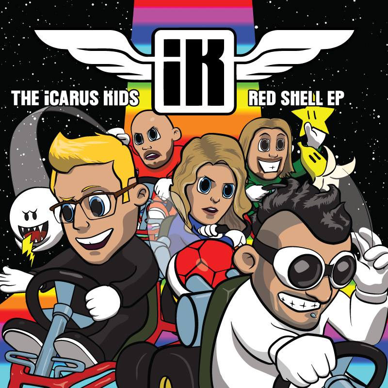 icarus-kids-red-shell-EP-video-game-music-band