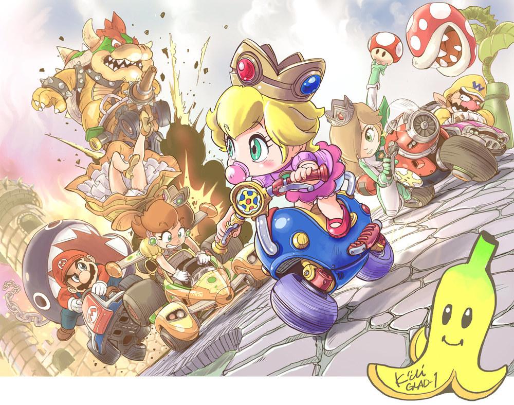 Mario Kart by Kiichi
