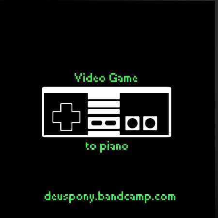DeusPony - Video Games to Piano