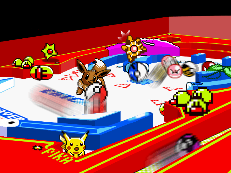 Pokemon Pinball 2D to 3D   by    HyperRoboto