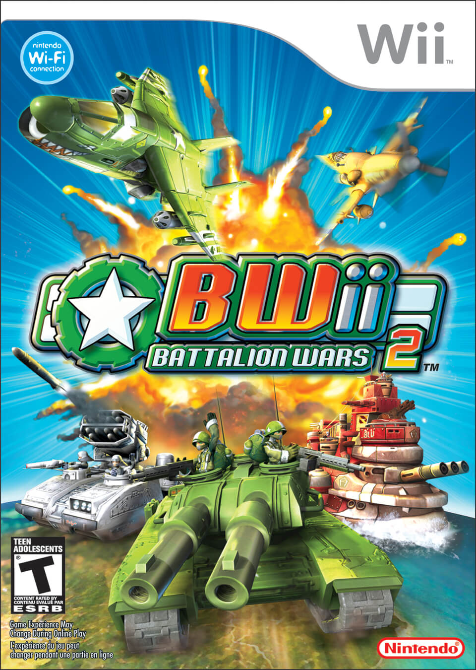 Following the release of Advance Wars Dual Strike, Nintendo released  Battalion Wars for the Gamecube, quickly followed up by Battalion Wars 2,  or BWii (ugh, ...