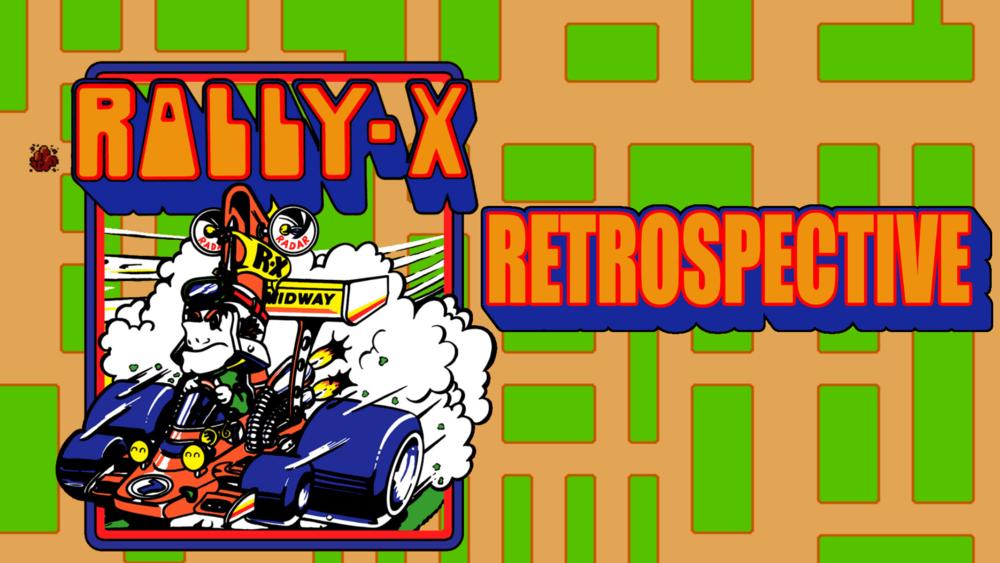 rally x namco 1980