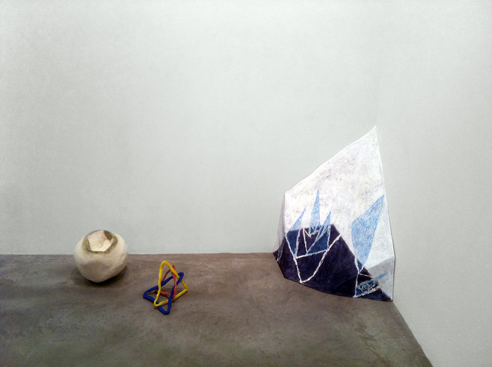The Parallactic Mode , 2011, installation view, the Fisher Landau Center for the Arts