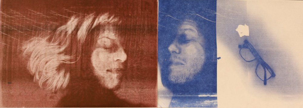 Angela and Grayson,Self-portraits