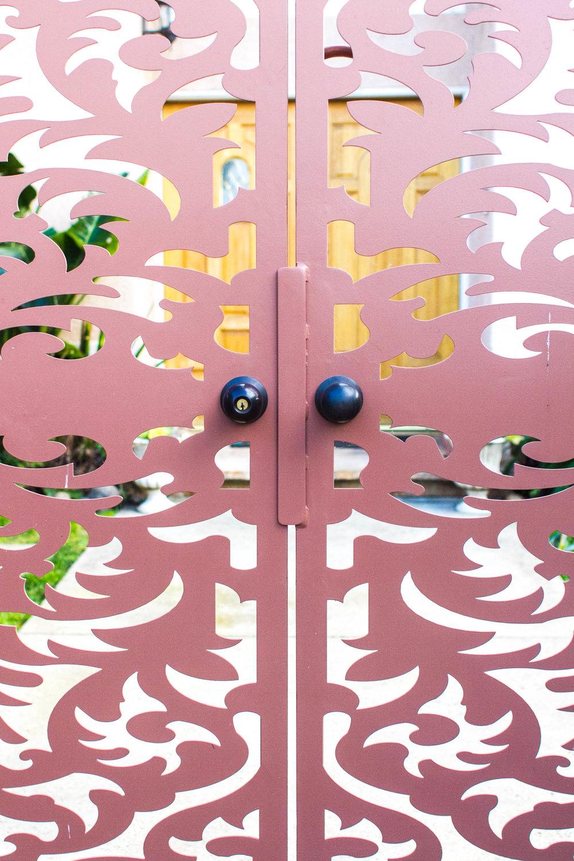 FRONT GARDEN GATE IN SHERMAN OAKS