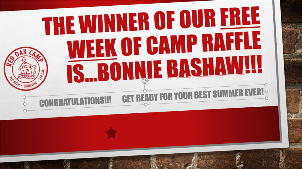 The winner of our free week of Camp Raffle.png