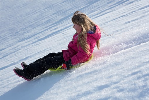 Stay at the camp for a campfire with s'mores,sledding, and more outdoor winter fun! -