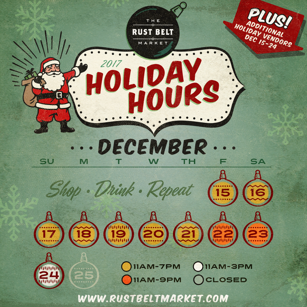 extended holiday hours