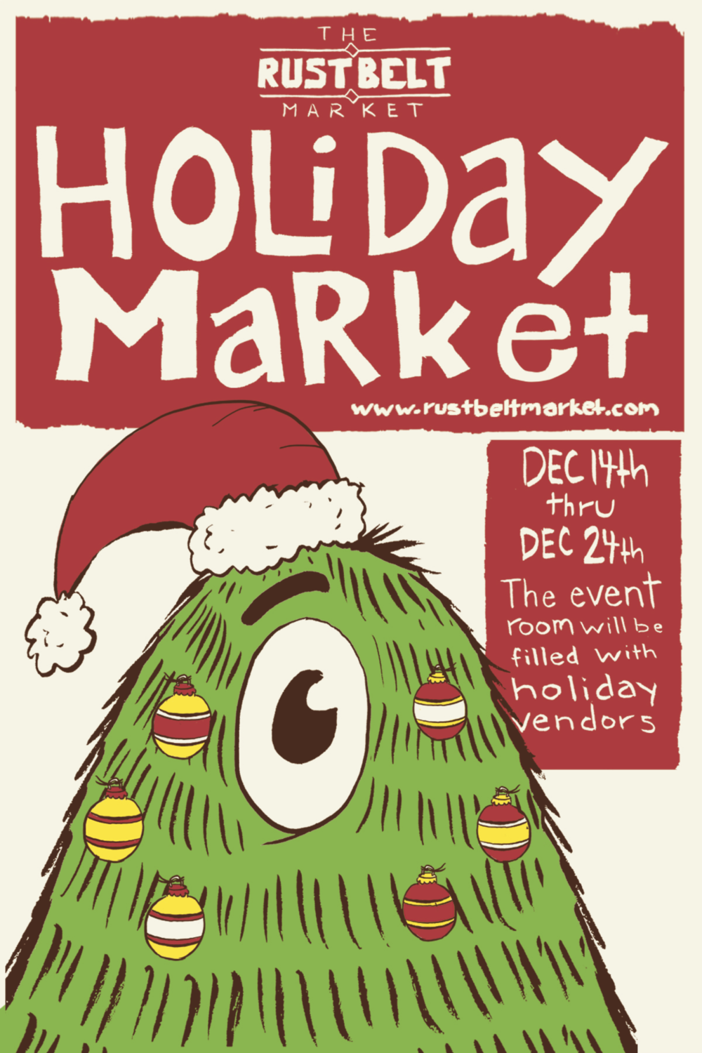 Happy Holidays from The Rust Belt Market!