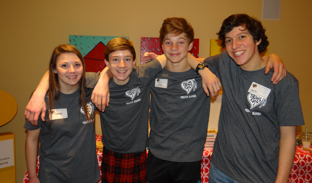Encourage   The Camp LUCK Youth Board promotes service opportunities for all Camp LUCK teens to develop leadership qualities while having fun!!!    READ MORE