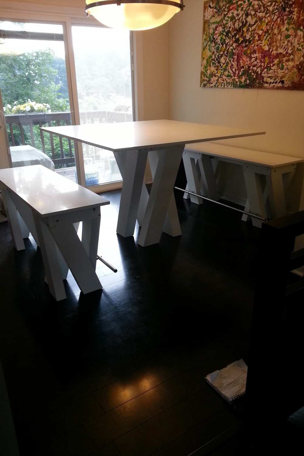 """7"" Dining Table"