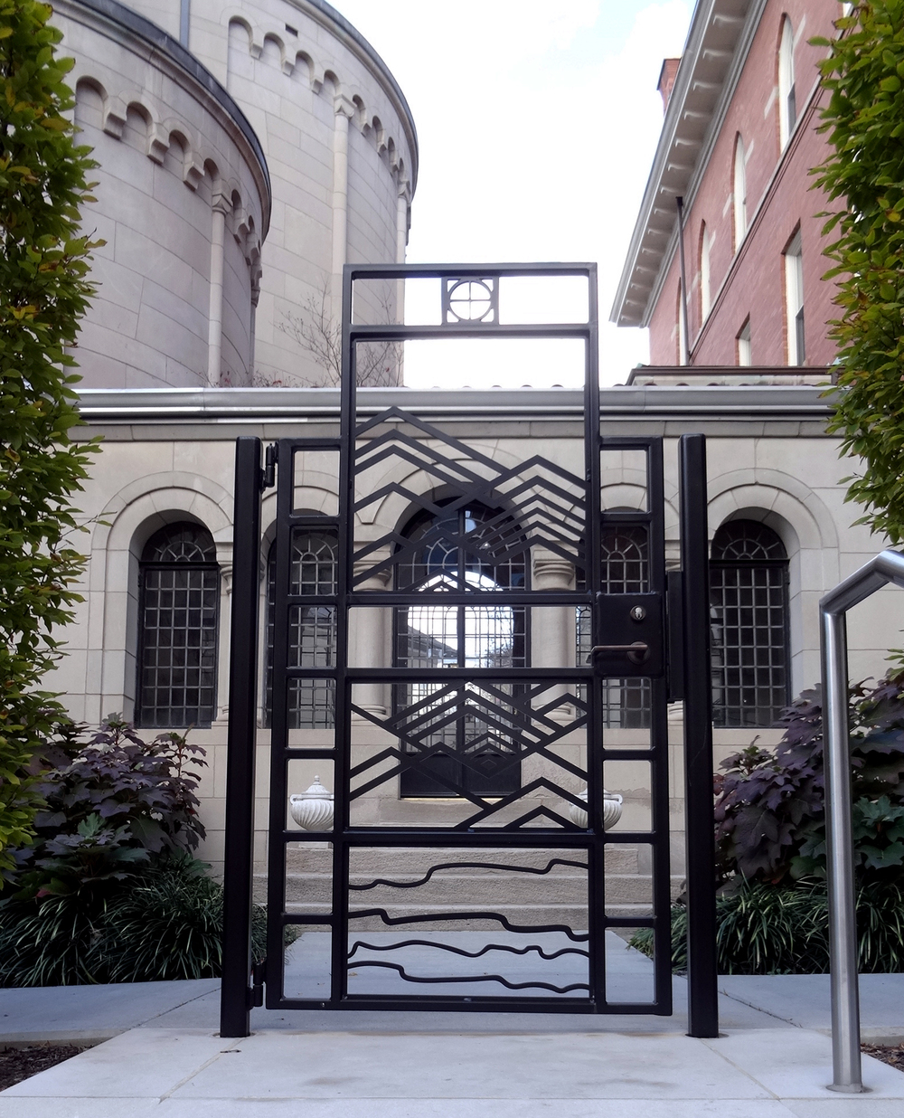 Catholic Campus Gate