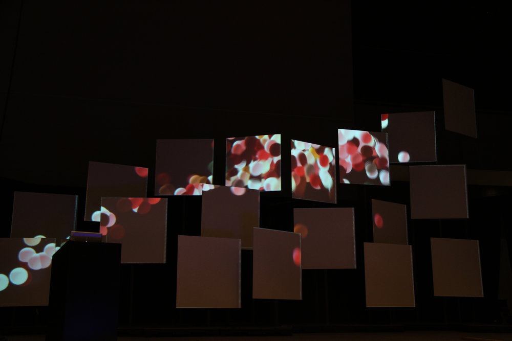 'Abstraction' Digital Mapping Display