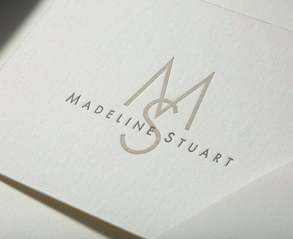 Madeline Stuart Interior Design Furniture Branding Identity
