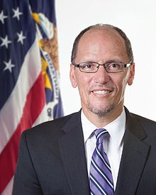 Thomas Edward Perez  (born October 7, 1961) is an  American  politician,  consumer advocate  and  civil rights  lawyer, who is the current  United States Secretary of Labor , photo and info courtesy of Wikipedia commons.