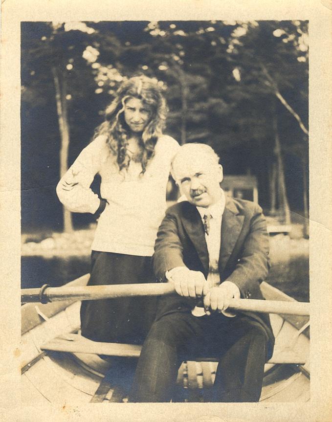 Mary and Jay Hambidge photo courtesy of The Hambidge Center