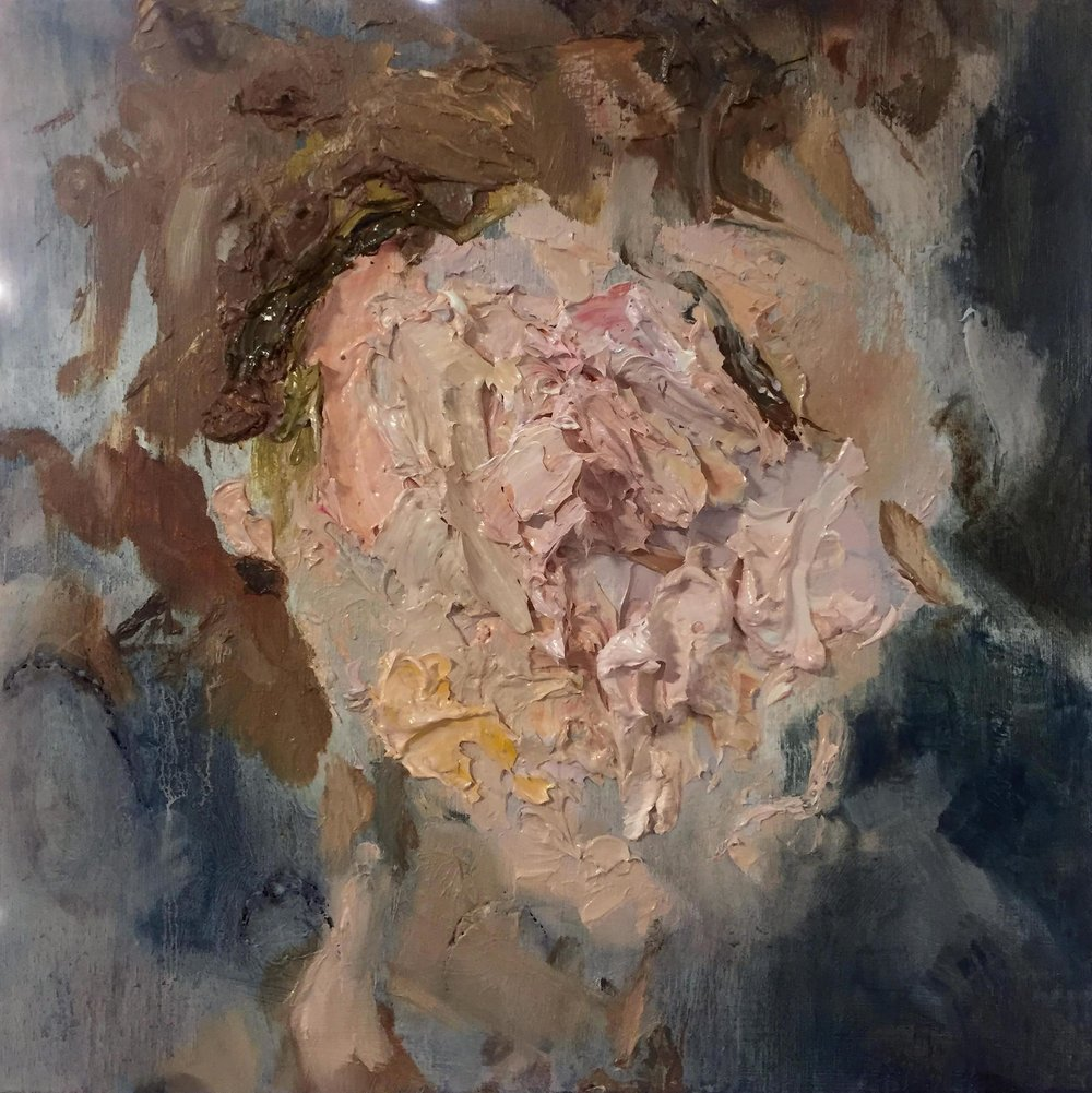 Self Portrait with White