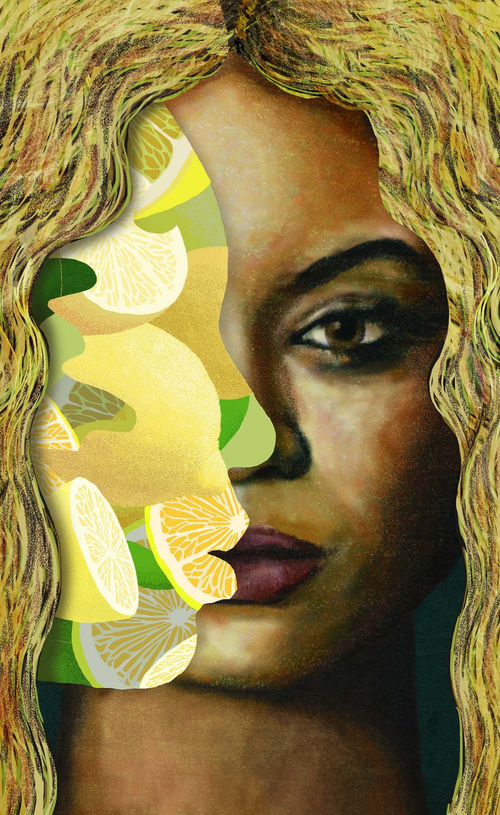 "Portrait of Beyonce's ""Lemonade"""
