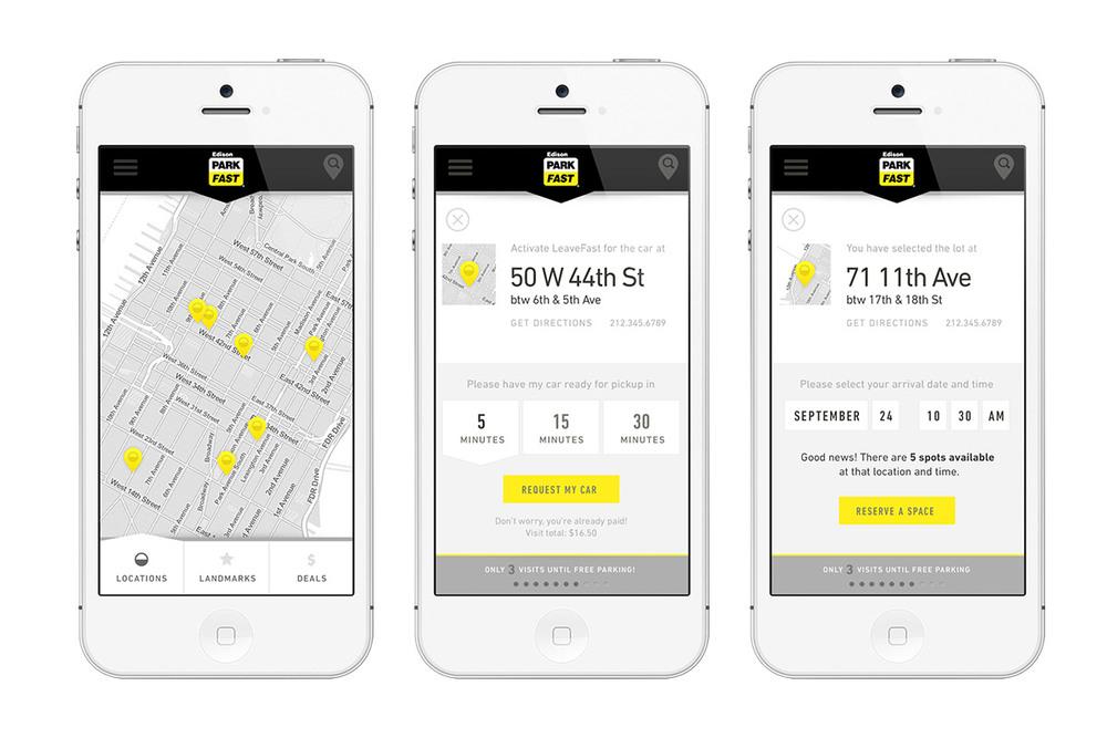 ParkFast Mobile App