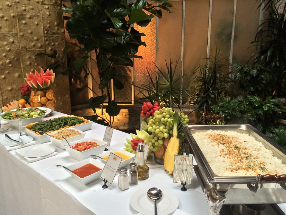 Wedding Buffet set up