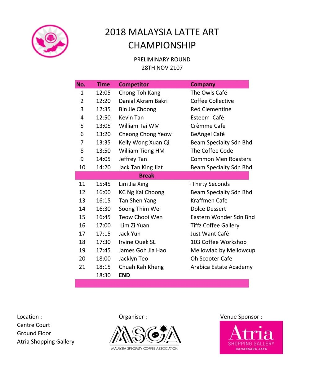 2018 MSCA  - MLAC Preliminary Rd - Day 1 line up-1.jpg
