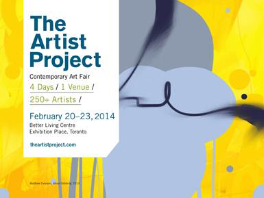 I will be one of the exhibiting artists at The Artist Project in Toronto, February 20-23, 2014. I have heard a lot about this event over the last few years and am very excited to be a part of it. Toronto, here I come! http://www.theartistproject.com/