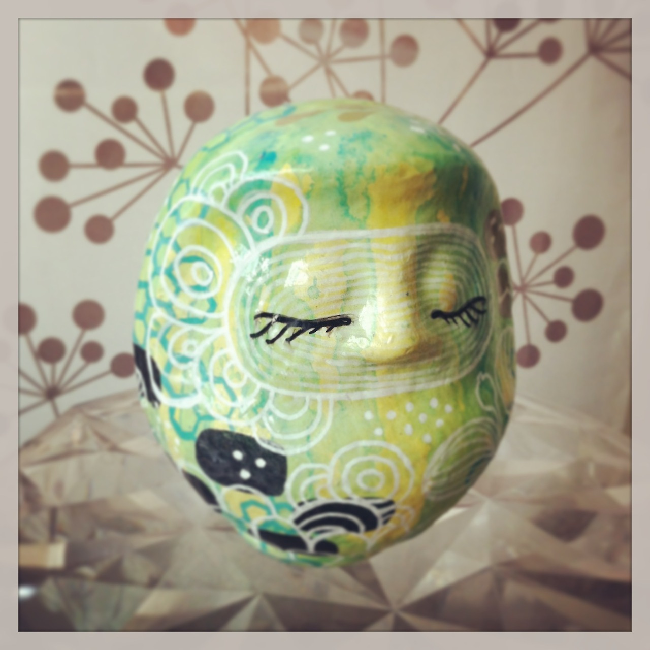 Once again, myself and 100 other artists have painted custom Daruma for the    Nikkei National Museum 6th annual BLOOM Art Auction     Silent Auction + Party: Saturday, May 24, 2014  7:00pm – 9:30pm  Tickets: $20 + tax (members), $25 + tax (non-members)    Exhibit: May 10-24, 2014 admission by donation   Fundraiser Showcases Traditional Japanese Folk Art with a Contemporary Twist   Click  here  to buy tickets or learn more