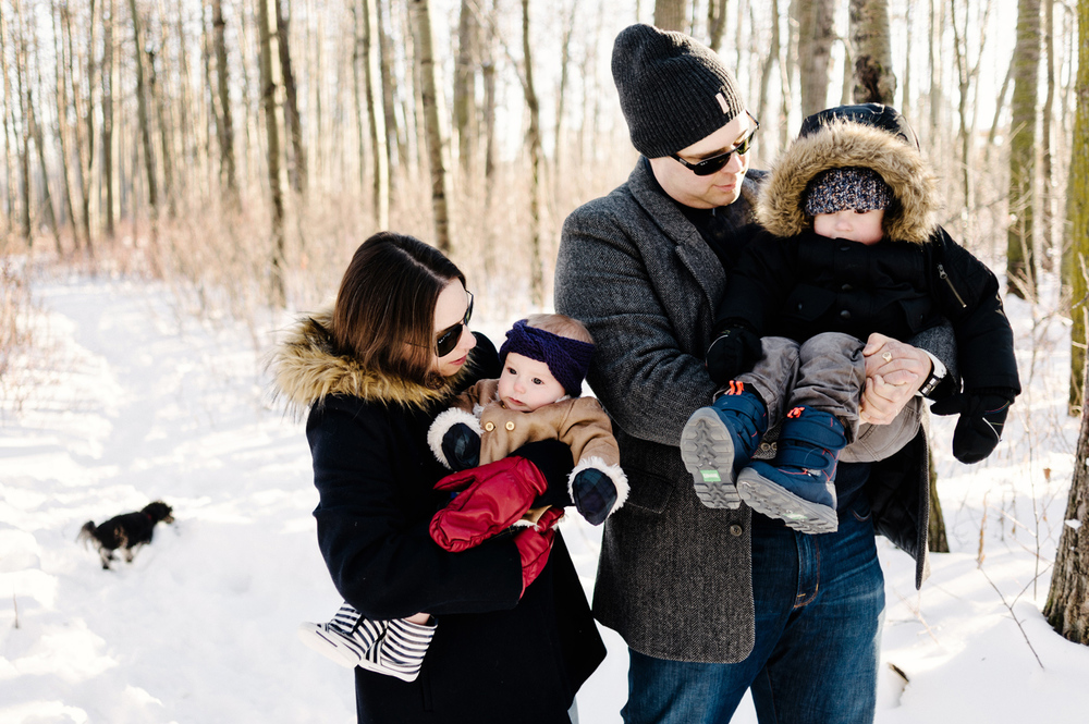 Sylvan Lake Photography, Winter Family Photographer,
