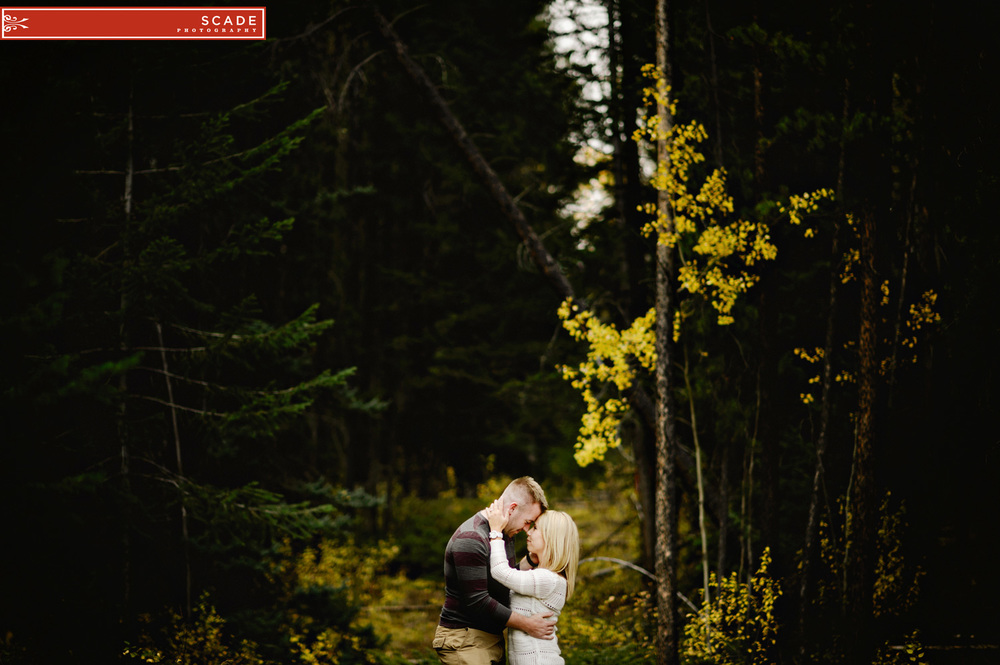 Jasper Engagement Session - Nathan and Brandi