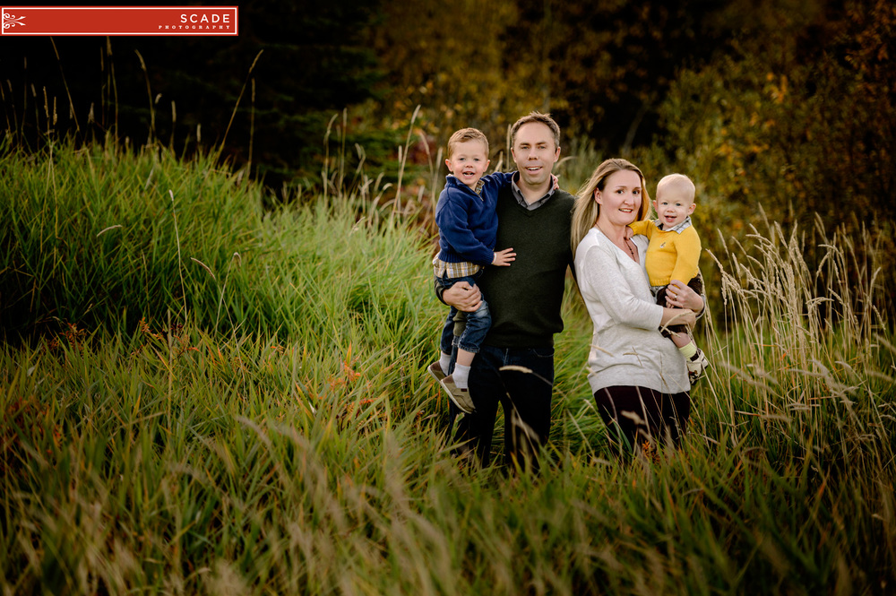 Fall Family Photography - St Albert