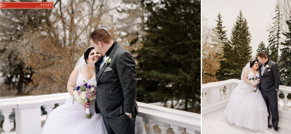 Edmonton Winter Wedding Photography
